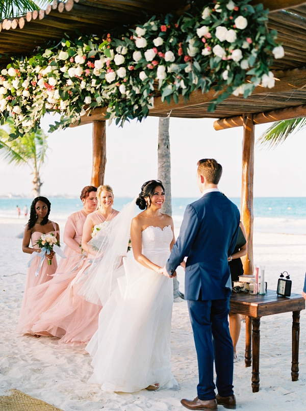 Beach Wedding | Colorful Destination Wedding In Mexico By Brittany Lauren Photography