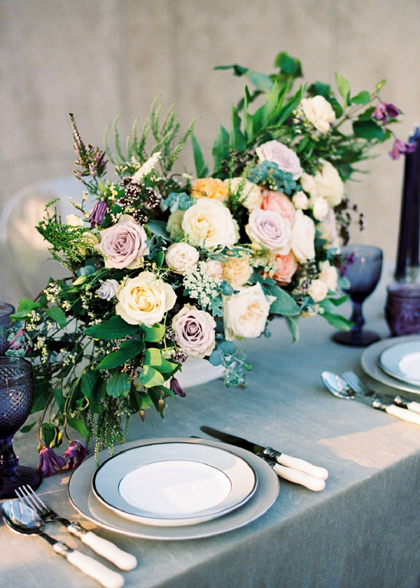 Bridal Shower Floral Centerpiece Idea | Garden Bridal Shower Inspiration By Yulia Tarasova Photography