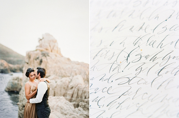 Bride and Groom | Halcyon Days Coastal Fine Art Inspiration from Noel Perrone Photography