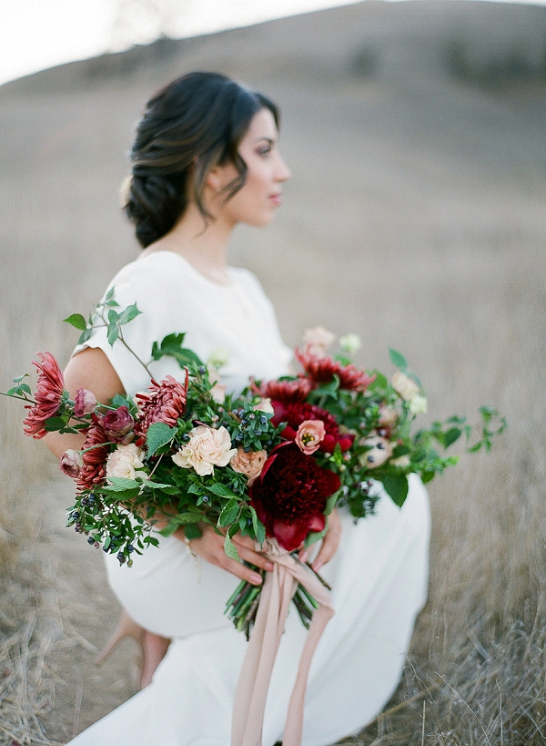 Bridal Bouquet | Romantic Bridal Inspiration from BW Member Samantha Kirk Photography