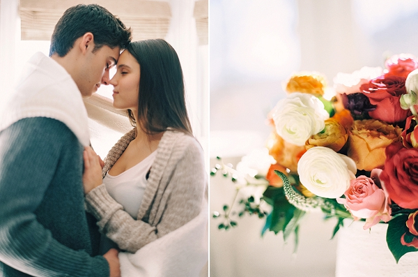 Romantic Valentine's Day Inspiration and Ideas By Lexy Ward and Michele Hart Photography