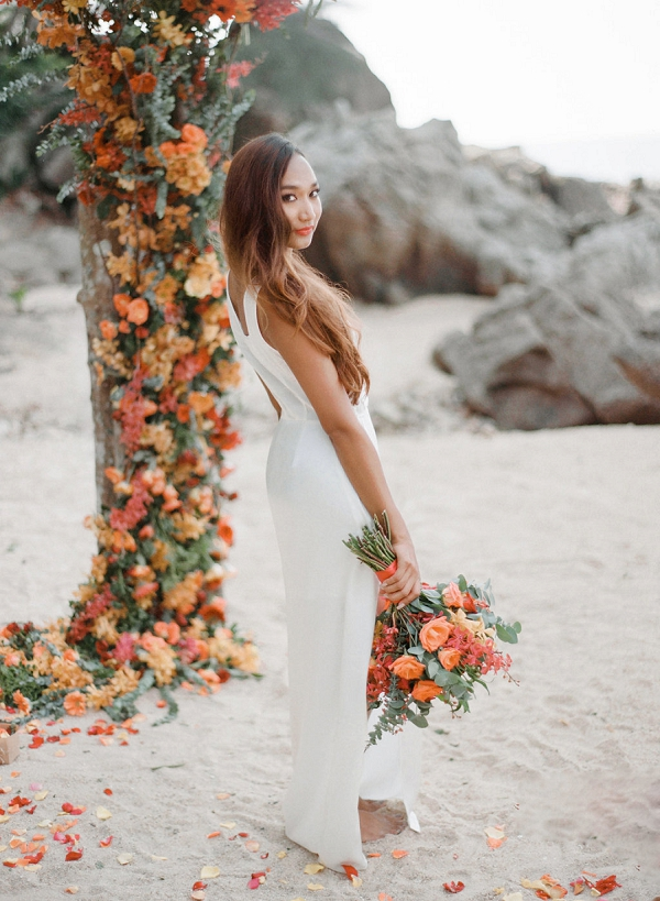 Bride   Tropical Luxe Wedding Inspiration in Thailand from Megan W Photography