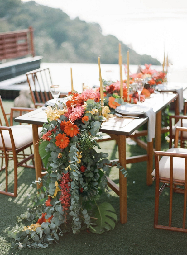 Tropical Wedding Ideas   Tropical Luxe Wedding Inspiration in Thailand from Megan W Photography