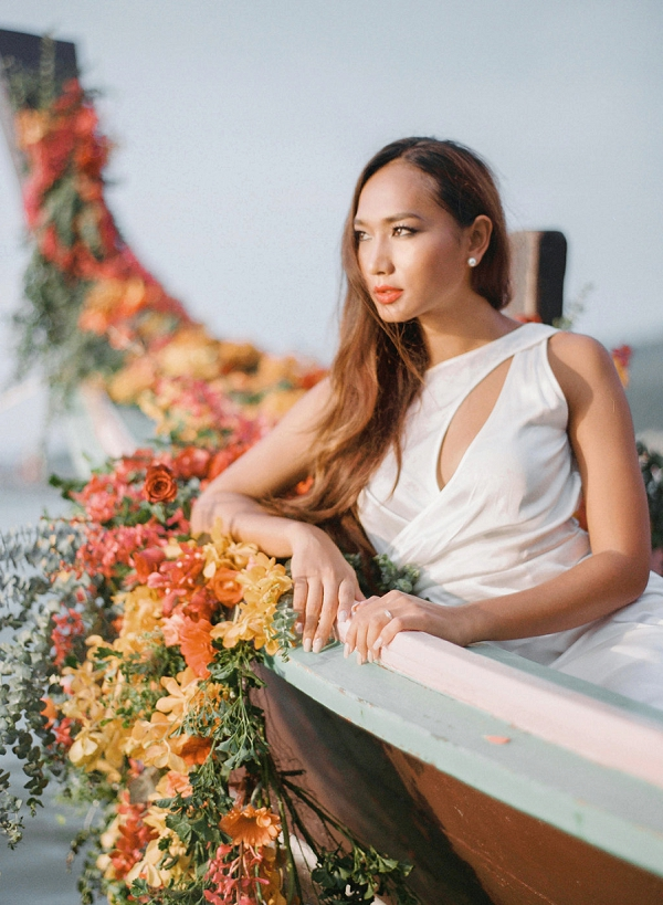 Tropical Luxe Wedding Inspiration in Thailand from Megan W Photography