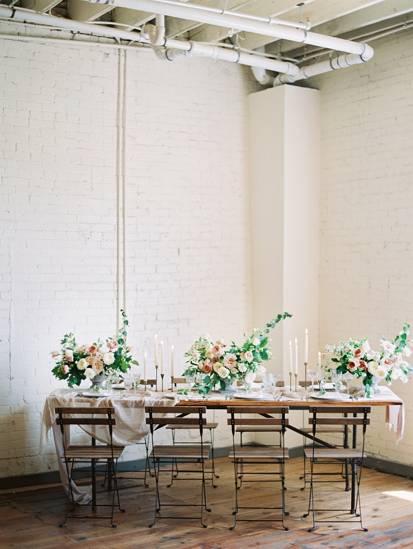Industrial Wedding Venue | Romantic Industrial Wedding Inspiration | Haystack Film Community | Grit + Gold