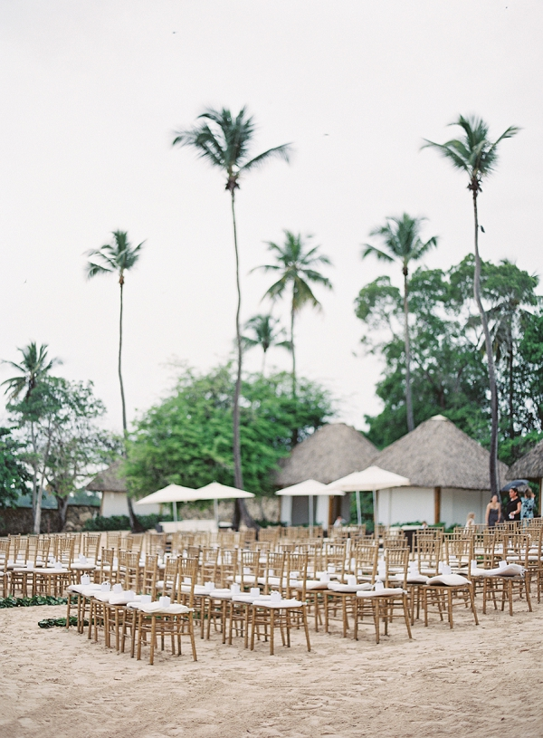 Tropical Beach Wedding | Dominican Republic Resort Wedding By Carrie King Photographer