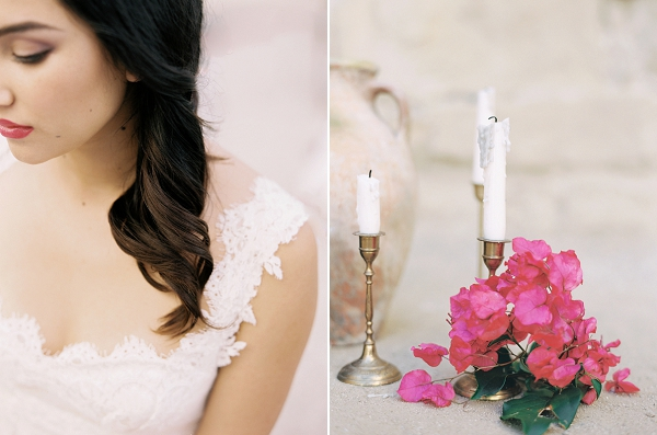 Bridal Makeup | Old World Spanish Style Wedding Inspiration By Savan Photography