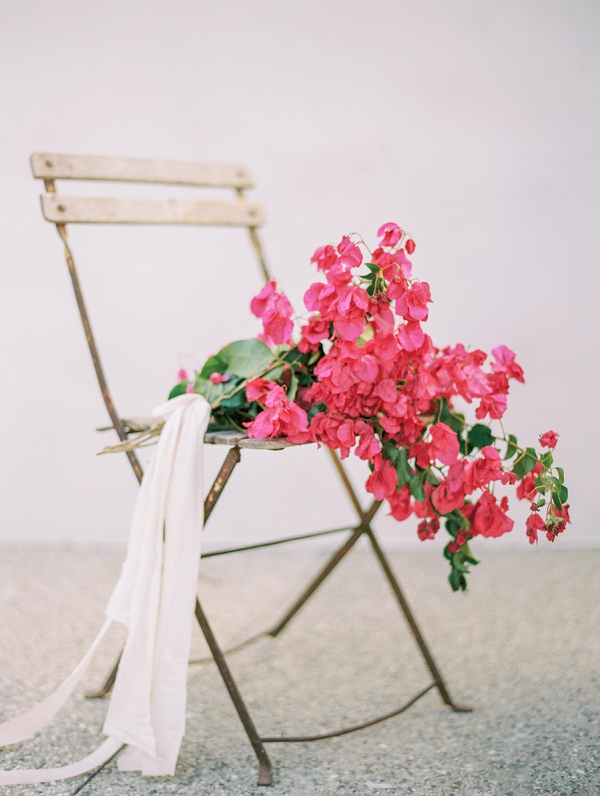 Bougainvillea Bouquet | Old World Spanish Style Wedding Inspiration By Savan Photography