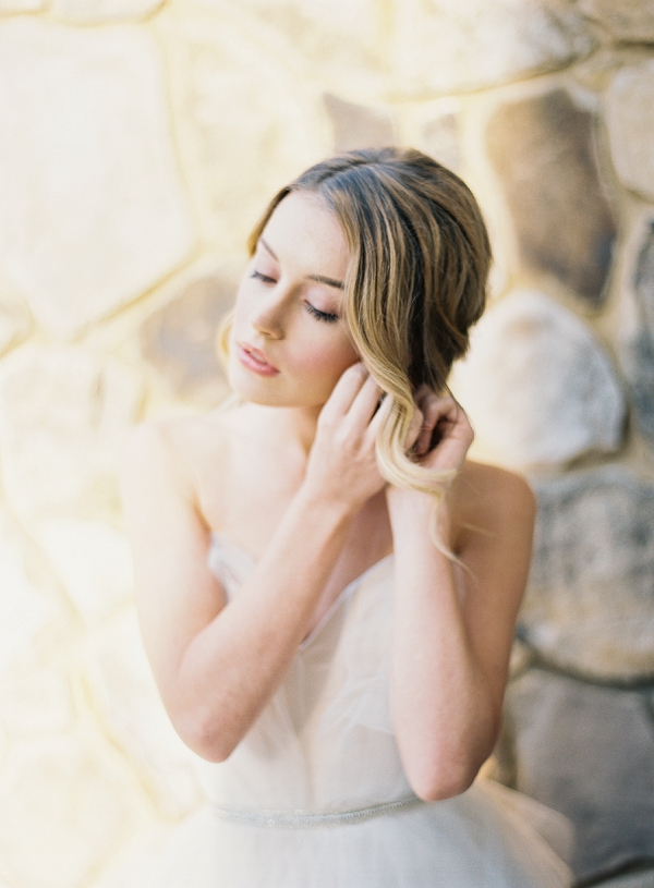 Bride Getting Ready | Classic Wedding Inspiration by Rachel May Photography