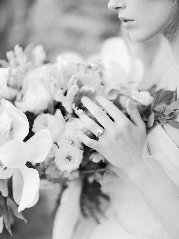 Bridal Bouquet | Classic Wedding Inspiration By Rachel May Photography