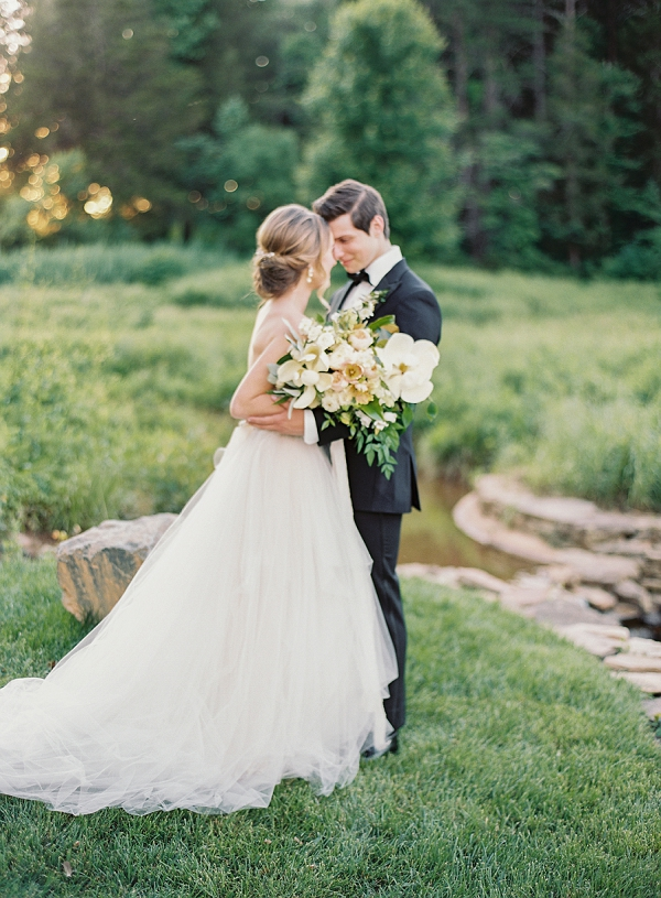 Elegant Bride and Groom | Classic Wedding Inspiration By Rachel May Photography
