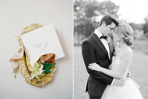 Calligraphy Details | Classic Wedding Inspiration by Rachel May Photography