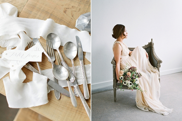 Romantic Watercolor Wedding Inspiration By Callie Hobbs Photography