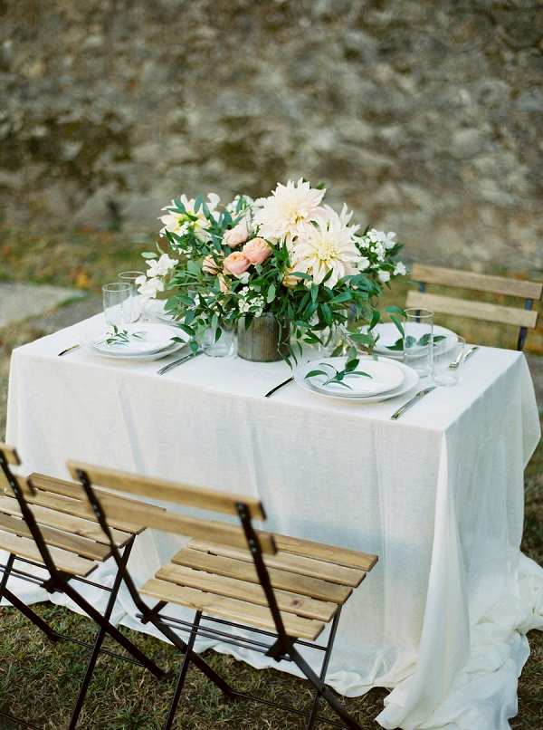 Tablescape | Blush Garden Wedding Inspiration by Matoli Keely Photography