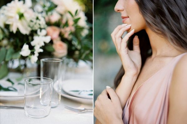 Place Setting | Blush Garden Wedding Inspiration by Matoli Keely Photography