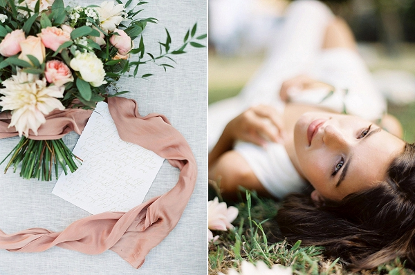 Bouquet | Blush Garden Wedding Inspiration by Matoli Keely Photography