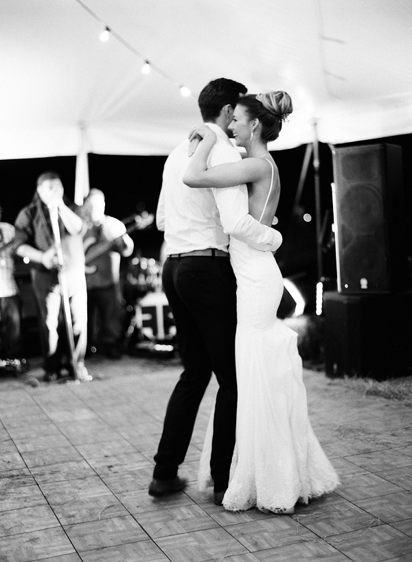 Bride and Groom First Dance | Bohemian Ranch Wedding By Alyssa Nikole Photography