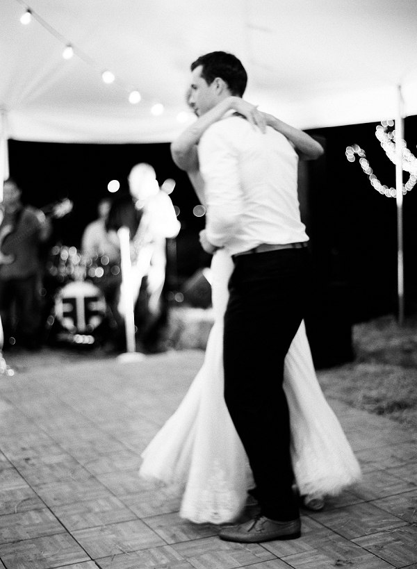 Bride and Groom Dancing | Bohemian Ranch Wedding By Alyssa Nikole Photography