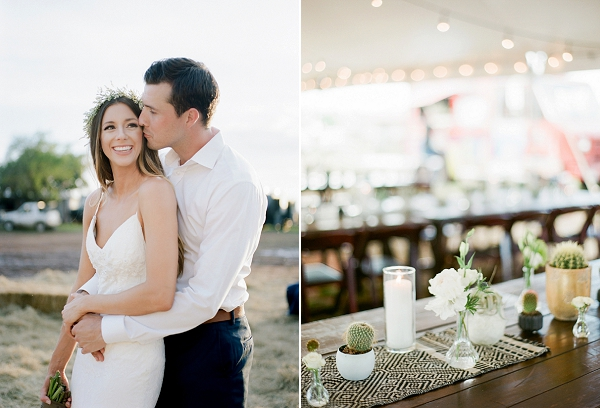 Modern Boho Chic Wedding Reception | Bohemian Ranch Wedding By Alyssa Nikole Photography
