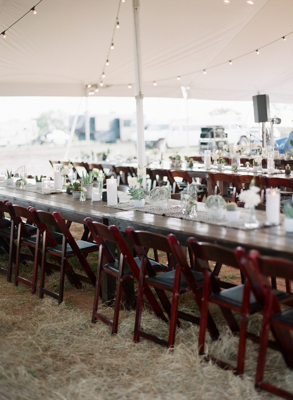 Tented Reception | Bohemian Ranch Wedding By Alyssa Nikole Photography