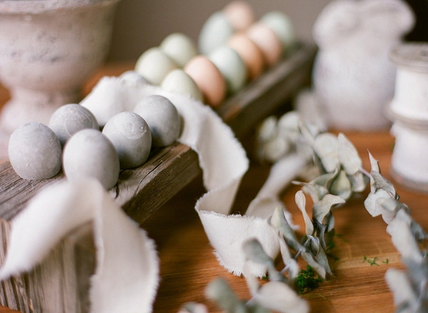 DIY Cement Easter Eggs Tutorial by Shannon Von Eschen Photography