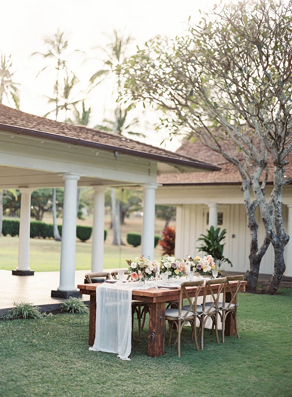 Hawaii Wedding Inspiration | Hawaii Wedding Ideas with Old World Charm from Christine Clark Photography
