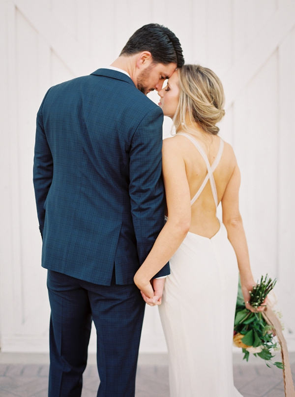 Bride and Groom | Wedding Inspiration With A Fresh Romantic Palette by Jessica Gold Photography