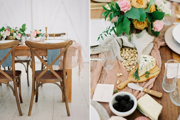 Rose uartz and Dusty Blue Palette | Wedding Inspiration With A Fresh Romantic Palette by Jessica Gold Photography