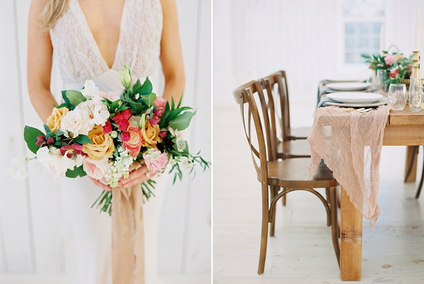Romantic Spring Bouquet | Wedding Inspiration With A Fresh Romantic Palette by Jessica Gold Photography