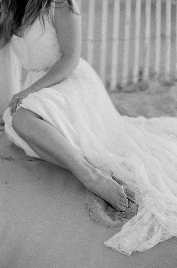 Elegant Beach Bride | Windswept By the Sea Editorial By Koby Brown Photography