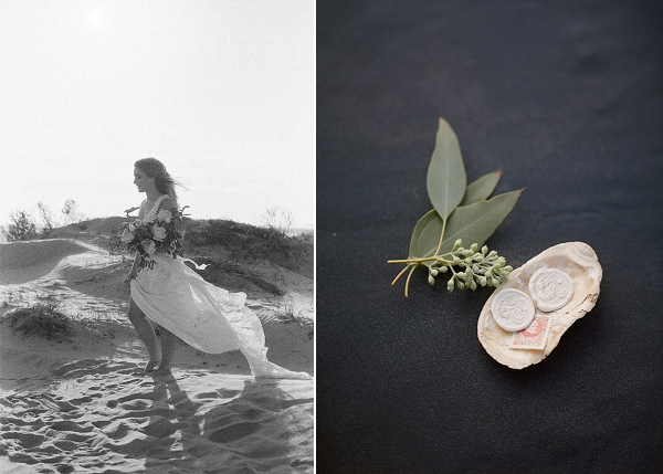 Elegant Beach Bridal Ideas | Windswept By the Sea Editorial By Koby Brown Photography