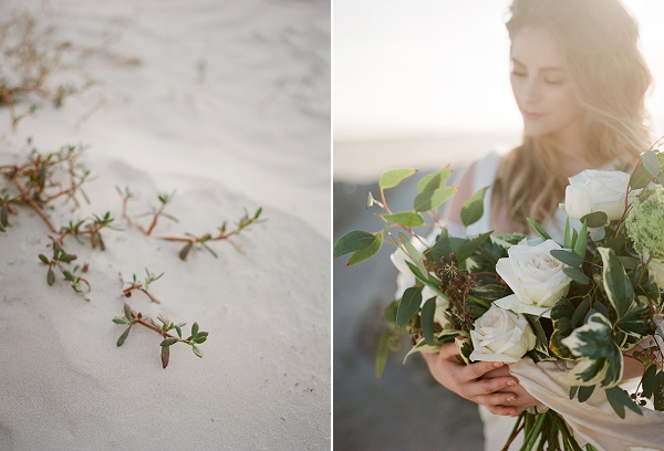 Classic Bouquet | Windswept By the Sea Editorial By Koby Brown Photography