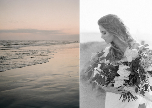 Lush Bouquet | Windswept By the Sea Editorial By Koby Brown Photography