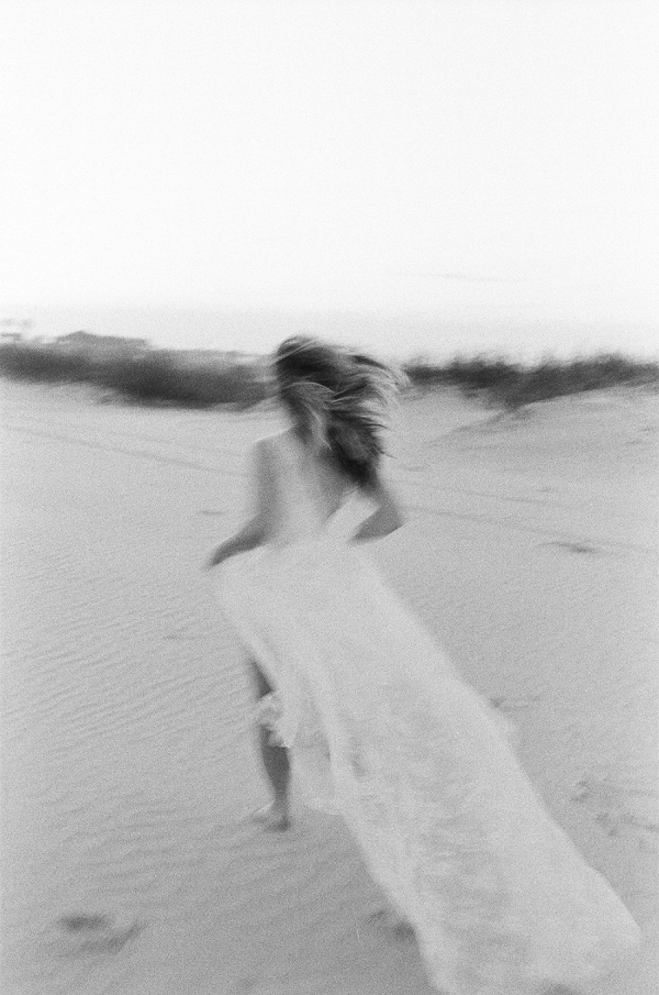 Fine Art Bridal Portrait | Windswept By the Sea Editorial By Koby Brown Photography