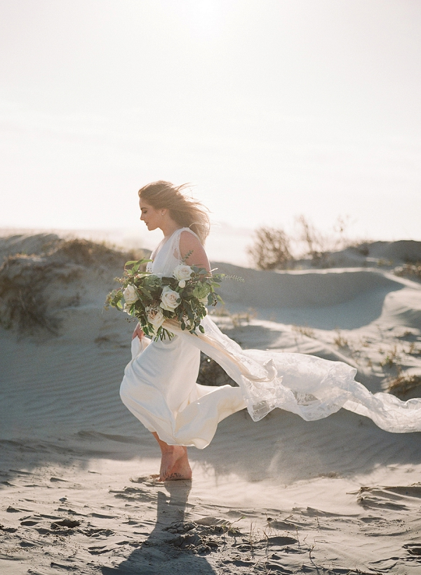 Beach Bride | Windswept By the Sea Editorial By Koby Brown Photography