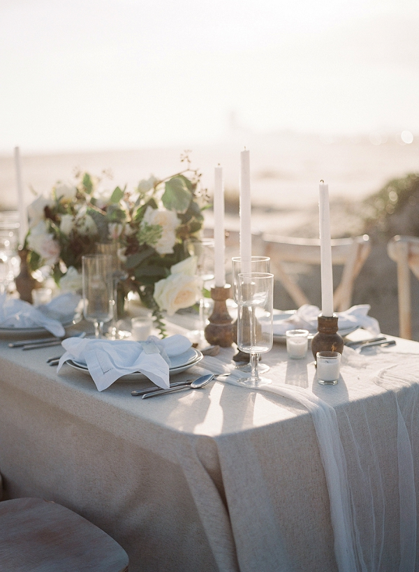 Classic Tablescape Inspiration | Windswept By the Sea Editorial By Koby Brown Photography