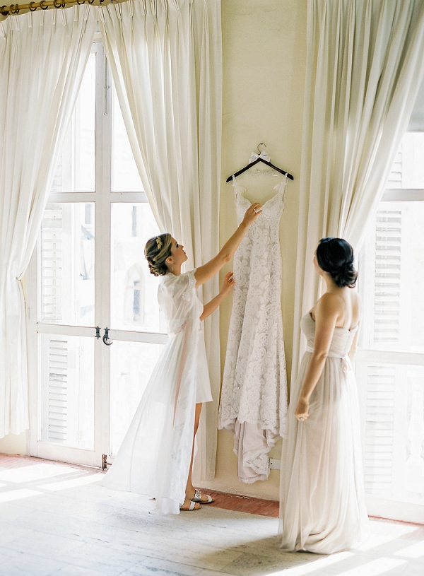 Bride Getting Ready   A Classic Garden-Inspired Wedding In Colombia by Vicki Grafton Photography