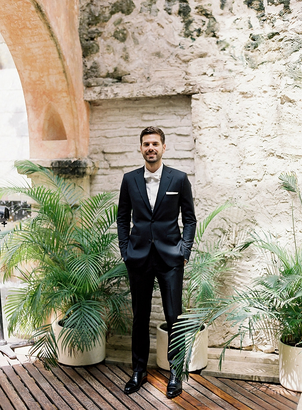 Modern Classic Groom   A Classic Garden-Inspired Wedding In Colombia by Vicki Grafton Photography