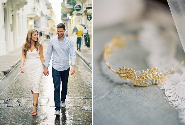 Cute Engagement Session on the Streets of Colombia   A Classic Garden-Inspired Wedding In Colombia by Vicki Grafton Photography