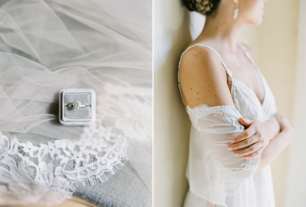 Sparkly Engagement Ring   A Classic Garden-Inspired Wedding In Colombia by Vicki Grafton Photography