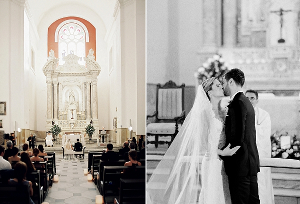 Beautiful Church Wedding   A Classic Garden-Inspired Wedding In Colombia by Vicki Grafton Photography
