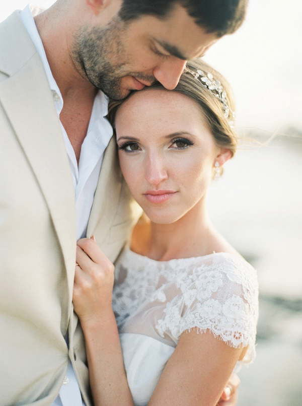 Bride and Groom | A Beach Chic Wedding in Tulum by Michelle Boyd Photography