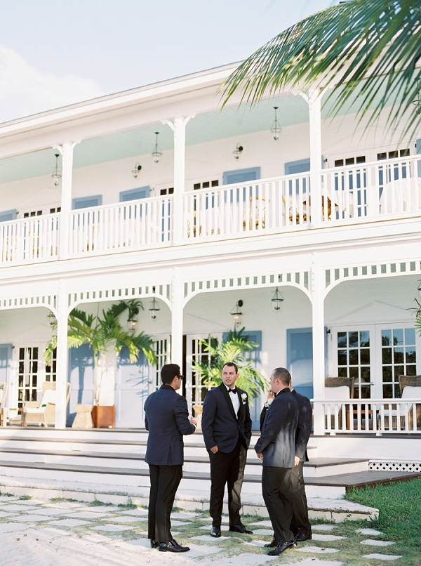 Groom and Groomsmen Before the Wedding | Islamorada Island Wedding in Florida by Shannon Moffit Photography