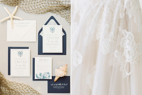 Nautical Wedding Invitations | Islamorada Island Wedding in Florida by Shannon Moffit Photography