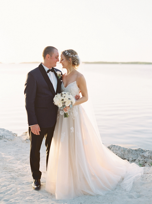 Bride and Groom | Islamorada Island Wedding in Florida by Shannon Moffit Photography