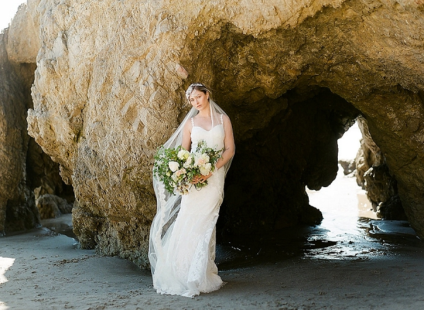 Beach Bride | Out Of Water Malibu Inspiration by Bonphotage Photography