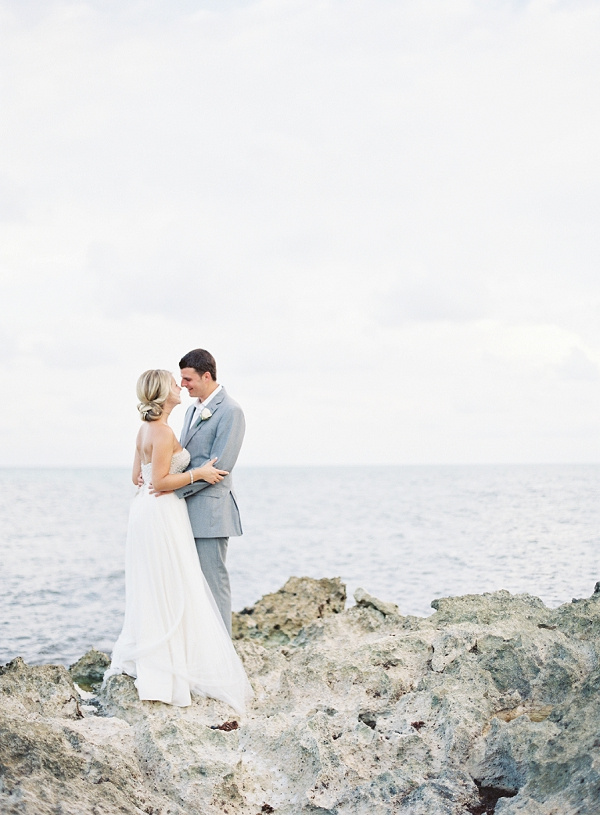 Bride and Groom Portrait | Riviera Maya Mexico Beach Wedding By Kayla Barker Fine Art Photography