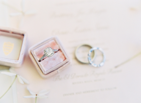 Engagement Ring | Riviera Maya Mexico Beach Wedding By Kayla Barker Fine Art Photography