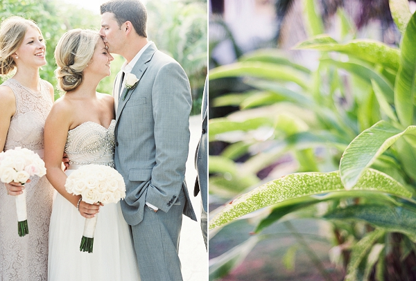 Sweet Moment Between Bride and Groom | Riviera Maya Mexico Beach Wedding By Kayla Barker Fine Art Photography