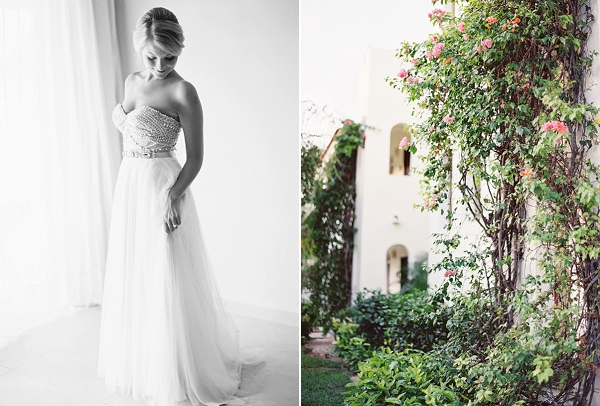 Hand Beaded Watters Wedding Dress | Riviera Maya Mexico Beach Wedding By Kayla Barker Fine Art Photography